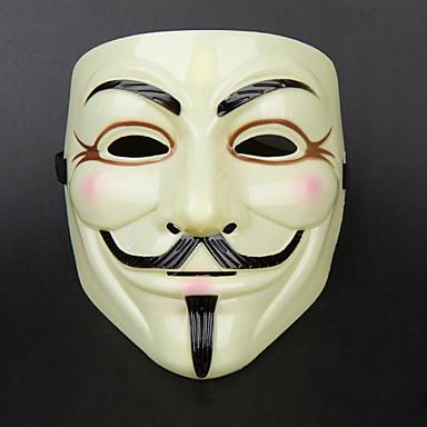 Women Men Halloween Horror Mask V For Vendetta Mardi Gras