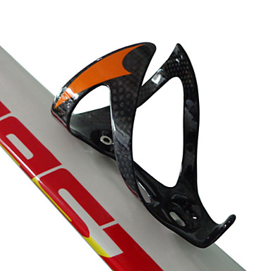 olcso Kulacsok és kulacstartók-Bike Water Bottle Cage Hordozható Könnyű Viselhető Viseletbiztos Tartós Kompatibilitás Kerékpározás Treking bicikli Mountain bike BMX TT Örökhajtós kerékpár Teljes szén Narancssárga Piros Zöld 3 pcs