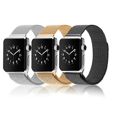 watch band for apple watch series 3 2 1 apple milanese loop stainless steel wrist strap. Black Bedroom Furniture Sets. Home Design Ideas