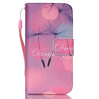 Carcasă Pro Pouzdro iPhone 5 Peněženka se stojánkem Flip Oboustranný  Pampeliška Pevné Umělá kůže pro iPhone SE 5s iPhone 5 4627077 2019 – €5.99 a079abfcebb