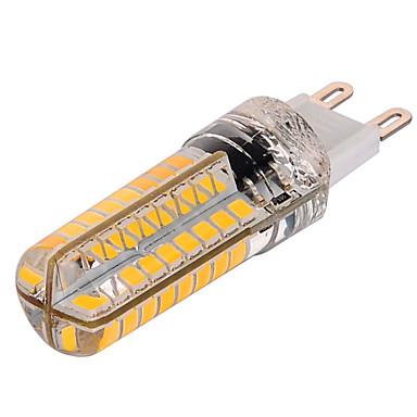 YWXLIGHT® 1 buc 10 W Becuri LED Corn 1000 lm G9 T 72 LED-uri de margele SMD 2835 Intensitate Luminoasă Reglabilă Alb Cald Alb Rece 220-240 V / 1 bc / RoHs