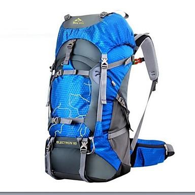 28f6a8a180 Ruksaci Ruksak 60 L - Vodootporno Otporno na kišu Otporno na vlagu Vanjski  Camping   planinarenje Lov Penjanje Oksford Zelen Plava Tamno zelena iz  4395558 ...