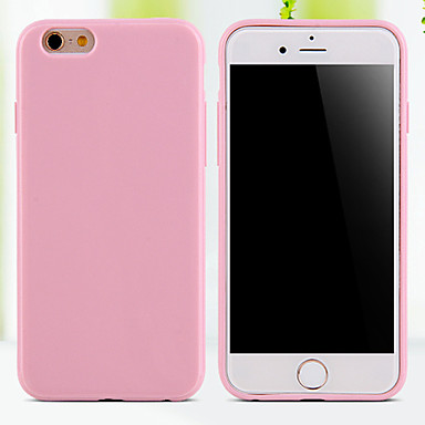 cheap iPhone Cases-Case For iPhone 5 / Apple iPhone SE / 5s / iPhone 5 Back Cover Solid Colored Soft TPU