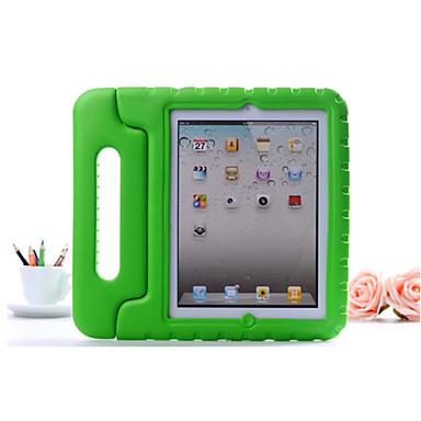 olcso iPad tokok-Case Kompatibilitás Apple iPad Air / iPad 4/3/2 / iPad Mini 3/2/1 Ütésálló / Állvánnyal Fekete tok Egyszínű Kemény EVA / iPad (2017)