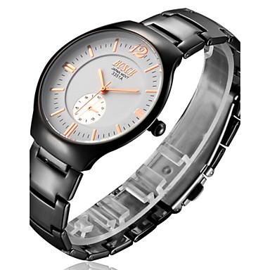 pánské hodinky bosck s ultra-tenkou černou wolframu slitiny vodotěsný  křemenných hodinek 4402604 2019 – €13.99 3f9acc55b4f