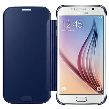voordelige Galaxy S-serie hoesjes / covers-hoesje Voor Samsung Galaxy S7 edge / S7 / S6 edge plus Beplating Volledig hoesje Effen PC