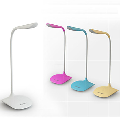 olcso Asztali lámpák-Modern Kortárs LED Íróasztallámpa Kompatibilitás PVC Világoskék / Fehér / Sárga
