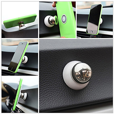 cheap Mobile Phone Accessories-Car Universal / iPad mini / Mobile Phone Mount Stand Holder 360° Rotation / Magnetic Universal / iPad mini / Mobile Phone Metal Holder