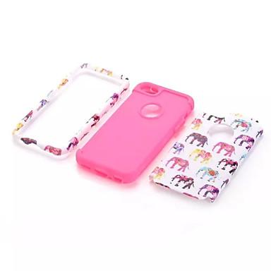 voordelige iPhone 5c hoesjes-hoesje Voor iPhone 5c / Apple iPhone 5c Volledig hoesje Zacht Siliconen