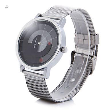 رخيصةأون ساعات الرجال-رجالي ساعة المعصم فريدة من نوعها الإبداعي ووتش كوارتز فضة مماثل 2# 3# 4#