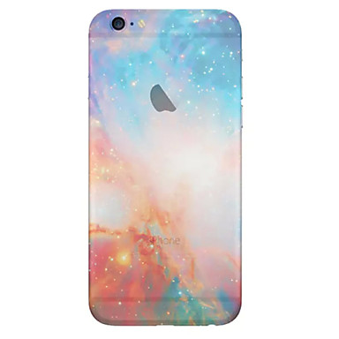 voordelige iPhone 6 Plus hoesjes-hoesje Voor Apple iPhone 8 Plus / iPhone 8 / iPhone 7 Plus Doorzichtig Achterkant Landschap Zacht TPU