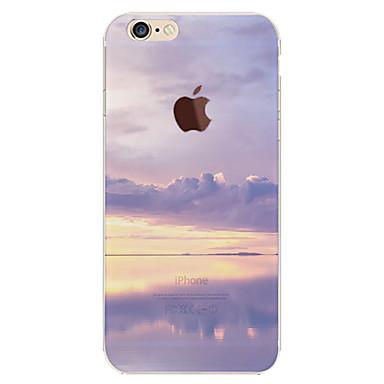 voordelige iPhone-hoesjes-hoesje Voor Apple iPhone 6s Plus / iPhone 6s / iPhone 6 Plus Patroon Achterkant Hemel / Landschap Zacht TPU