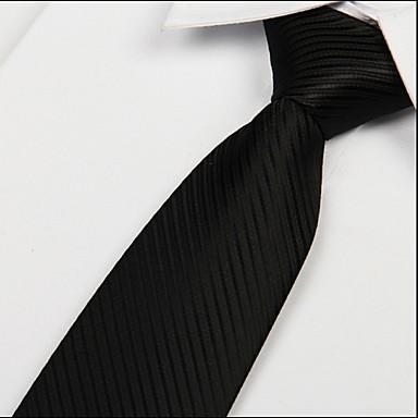 ربطة العنق لون سادة رجالي - ستايل كلاسيكي حفلة / عمل / أساسي
