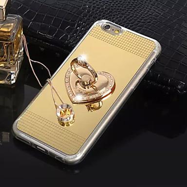 szeretni stent gyűrű gyémánt csat aranyozott tükör tulajdonosa TPU anyag  mobiltelefon tok iPhone 6   6s (vegyes színek) 4619446 2019 – €8.99 0a28731afd