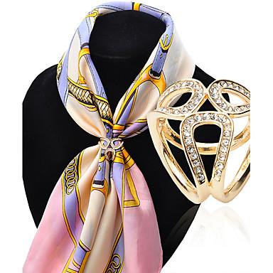 povoljno Broševi-Žene Broševi dame Luksuz Moda Imitacija dijamanta Broš Jewelry Pink Zlatan Za Vjenčanje Party Special Occasion Rođendan Dar Dnevno