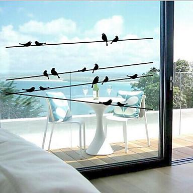 Klasičan stil - Prozor naljepnica - Životinjski uzorak