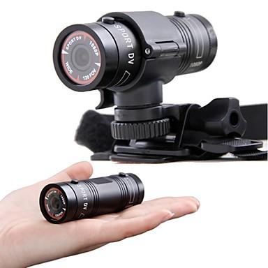 olcso Sport kamerák-új mini f9 sport DV Full HD 1080p vízálló sport kamera digitális fényképezőgép akció extrém sportok videokamera