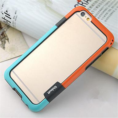 voordelige iPhone-hoesjes-hoesje Voor iPhone 6s Plus / iPhone 6 Plus / Apple iPhone 6s Plus / iPhone 6 Plus Bumper Zacht TPU