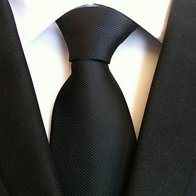 ieftine Cravate-Bărbați Mată Petrecere / Birou / De Bază Cravată