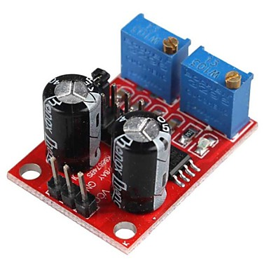Ne555 pulse frequency duty cycle adjustable module square for Stepper motor pulse generator