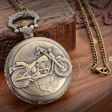رخيصةأون ساعات الرجال-رجالي ساعة جيب ياباني كوارتز برونز 30 m ساعة كاجوال مماثل سحر سنة واحدة عمر البطارية