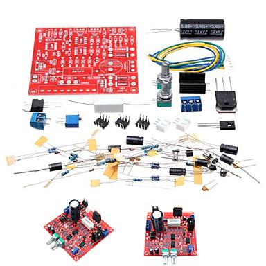 Недорогие Наборы Сделай-сам-0-30V 2 мА - 3а регулируемые DC регулируется питания DIY Kit короткого замыкания ограничение тока Защита