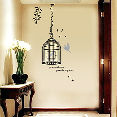 Landscape Christmas Decorations Florals Holiday Wall Stickers 3D ...