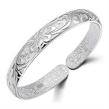 Pentru femei Brățări Bangle femei Auriu Bijuterii brățară Argintiu Pentru Nuntă Petrecere Zilnic Casual Mascaradă Petrecere Logodnă / Placat Auriu
