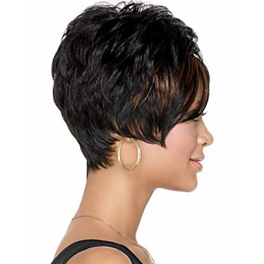 lyhyet mustat hiukset suku puoli