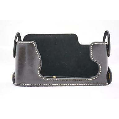 olcso Tokok-dengpin® pu bőr felében készült tok táska fedél alapot FUJIFILM X-E1 x-e2 XE1 XE2 (vegyes színek)