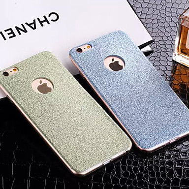 voordelige iPhone 6 hoesjes-hoesje Voor Apple iPhone 8 Plus / iPhone 8 / iPhone 7 Plus Patroon Achterkant Glitterglans Zacht TPU
