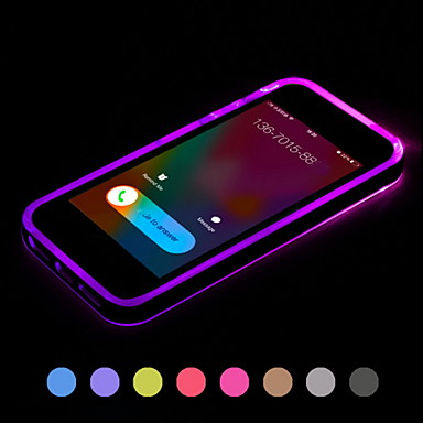iphone 5s back cover call led blink transparent tpu back cover for iphone 14740
