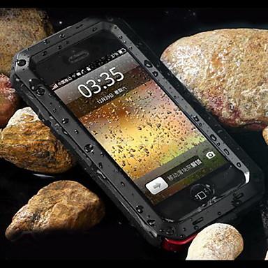 voordelige iPhone-hoesjes-hoesje Voor Apple iPhone XS / iPhone XR / iPhone XS Max Schokbestendig / Stofbestendig / Waterbestendig Achterkant Schild Hard Metaal