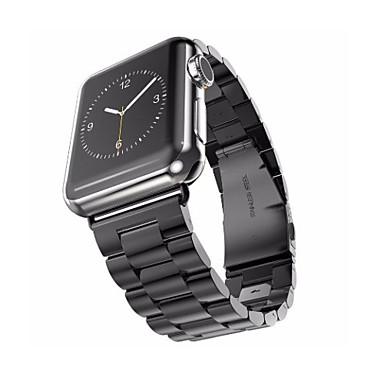 זול רצועות לApple Watch-צפו בנד ל סדרת Apple Watch 5/4/3/2/1 Apple פרפר באקל מתכת אל חלד רצועת יד לספורט