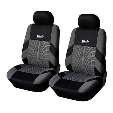 Недорогие Чехлы для сидений и аксессуары для транспортных средств-autoyouth черный и серый воздухопроницаемый комфортный простой в установке автомобильные чехлы на сиденья чехлы на сиденья текстильные общие для Volkswagen / Toyota / Suzuki и т. д.