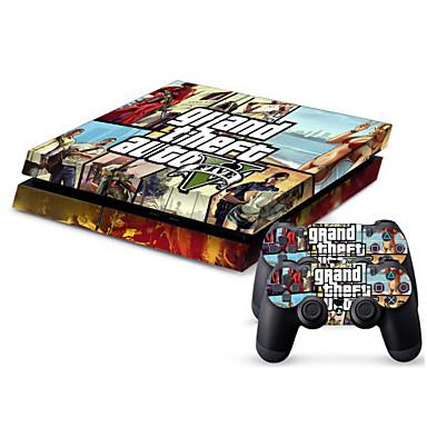 olcso PS4 tokok-B-SKIN Matrica Kompatibilitás PS4 ,  Matrica PVC 1 pcs egység