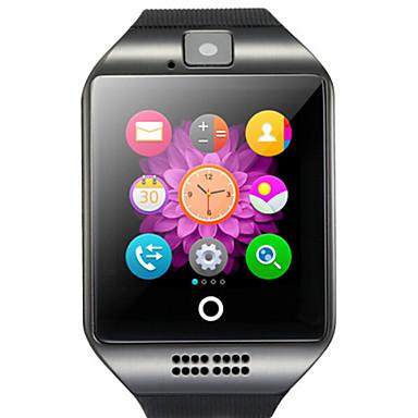 povoljno Pametni satovi-q18 smartwatch bt fitness tracker s podrškom za fotoaparat obavijesti / monitor otkucaja srca sportski pametni sat za samsung / iphone / android telefone
