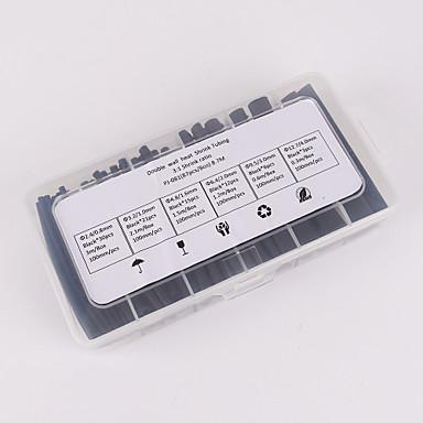 Недорогие Ремонтные инструменты-iztoss 87pcs 100mm 3: 1 отношение 6 размер φ2.4-12.7 0,8мм-4,0мм полиолефиновая термоусадочная трубка комплект рукав кабель обруча
