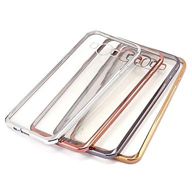 Недорогие Чехлы и кейсы для Galaxy A5-Кейс для Назначение SSamsung Galaxy A7(2016) / A5(2016) / A9 Покрытие / Прозрачный Кейс на заднюю панель Однотонный ТПУ