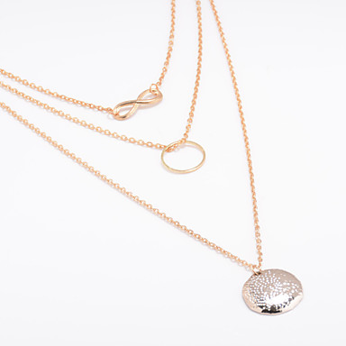 Women S Choker Necklace Pendant Necklace Layered Necklace Karma
