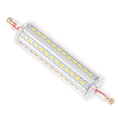 olcso LED izzók-ywxlight® dimmable 12w 1050 lm r7s 2835smd 72led led corn light meleg fehér hűvös fehér természetes fehér lámpa ac 110-130v ac 220-240v