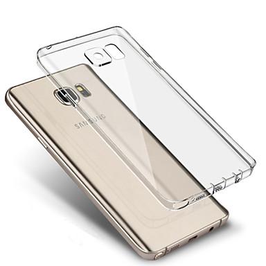 Kılıf Na Samsung Galaxy S7 Edge / S7 Ultra cienkie / Transparentny Osłona tylna Solidne kolory TPU