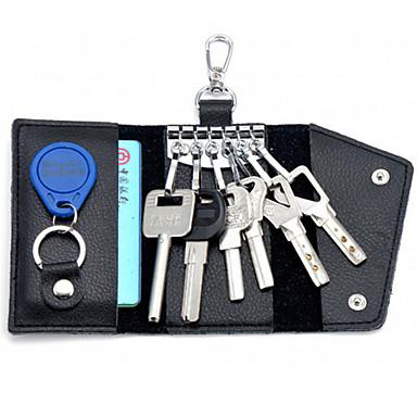 olcso Kulcstartók-férfi bőr többfunkciós gombot táskák népszerű speciális, magas minőségű kártya csomag