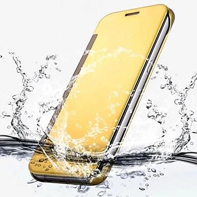 Недорогие Чехлы и кейсы для Galaxy S6 Edge-Кейс для Назначение SSamsung Galaxy S7 edge / S7 / S6 edge plus Покрытие / Флип / Прозрачный Чехол Однотонный ПК
