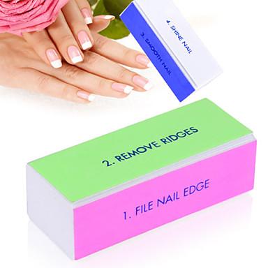 Emery / Plastic Buffer Blocks For Finger Nail Toe Nail Mini Style nail art Manicure Pedicure Simple / Classic Daily 4814331 2019 – $2.39