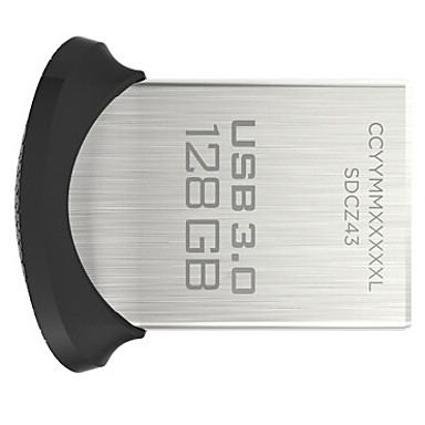 SanDisk 128GB 128 GB Ultra Fit Micro USB 3.0 Flash Pen Drive SDCZ43-128G 130MB//s