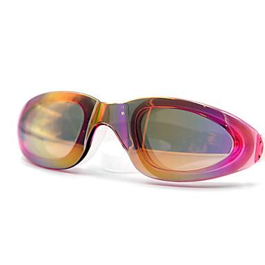 olcso Úszószemüvegek-Úszás Goggles Páramentesítő Vényköteles Tükrözött Silica Gel PC Fekete Átlátszó Piros Fekete Kék