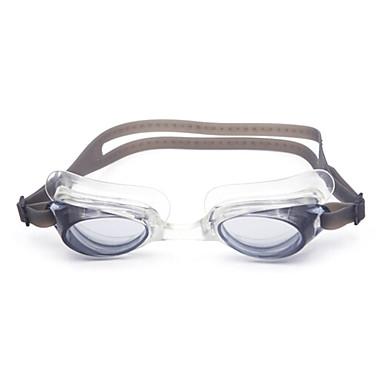 رخيصةأون نظارات السباحة-نظارات السباحة مكافح الضباب وصفة معكوسة جل السيليكا للعد التنازلي أبيض أسود أزرق أحمر رمادي أزرق