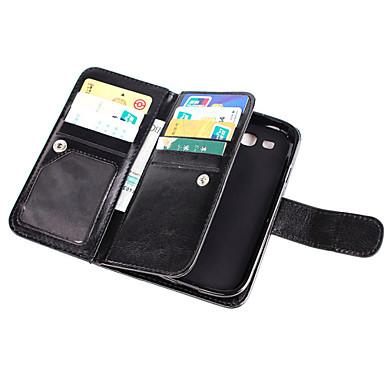 hoesje Voor Samsung Galaxy Grand Prime / Core Prime Portemonnee / Kaarthouder / Flip Volledig hoesje Effen PU-nahka