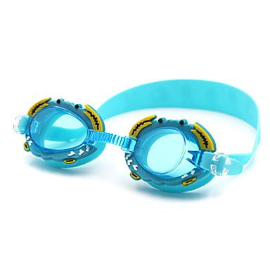 baratos Óculos de Natação-Óculos de Natação Anti-Nevoeiro silica Gel PC Rosa Azul Laranja Rosa Azul Laranja